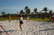 People playing volleyball in Mackle Park, Marco Island, Florida