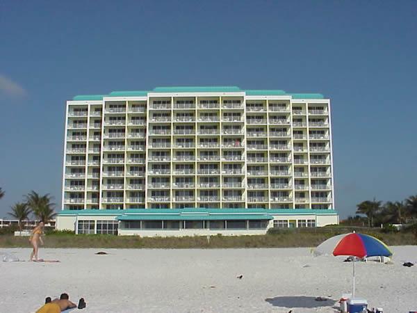 Beach side of the Apollo condo